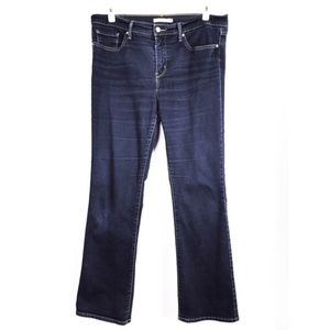 Levi's Woman's 315 Shaping Boot Blue Jeans Size 32